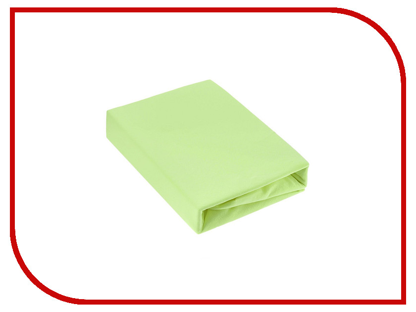 Простыня Эго Трикотаж на резинке 180x200 Lime Green Э-ПР-03-31