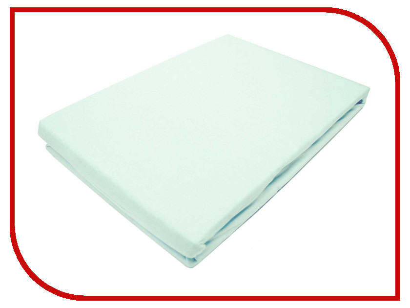 Простынь Эго Трикотаж на резинке 180x200 Light Blue Э-ПР-03-36