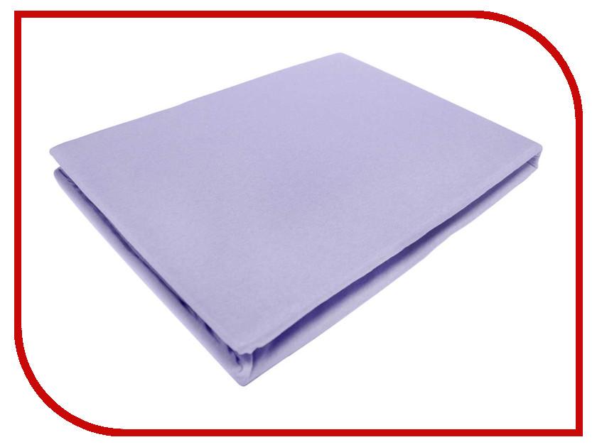 Простынь Эго Трикотаж на резинке 200x200 Violet Э-ПР-04-34