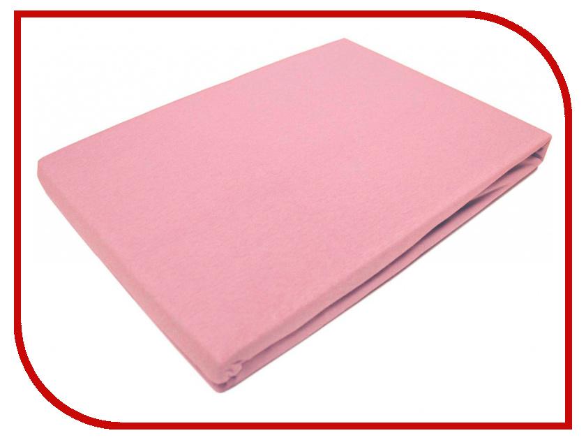 Простынь Эго Трикотаж на резинке 90x200 Light Pink Э-ПР-01-32