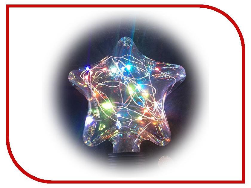 Светящееся украшение Светодиодная лампа Espada Звезда Multicolor E-E27FS63FC 12 63 tw007ewnef36
