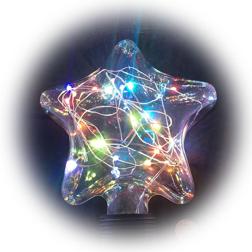 Светящееся украшение Светодиодная лампа Espada Звезда Multicolor E-E27FS63FC