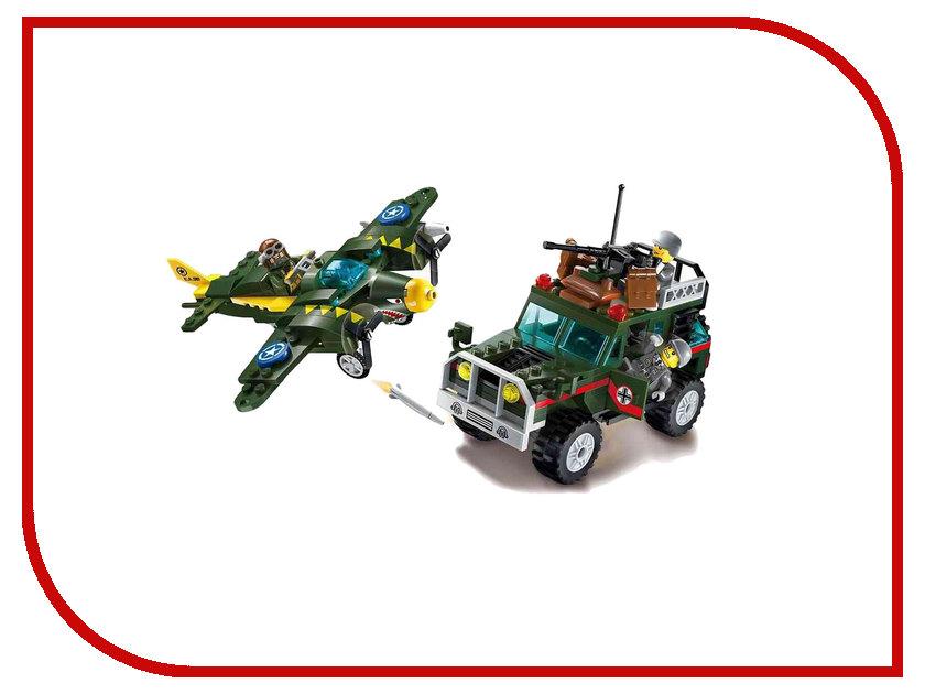 Конструктор Enlighten Brick CombatZones 1707 Воздушный удар 241 дет. 233283 конструктор enlighten brick город 111 центр спасения мчс г13594