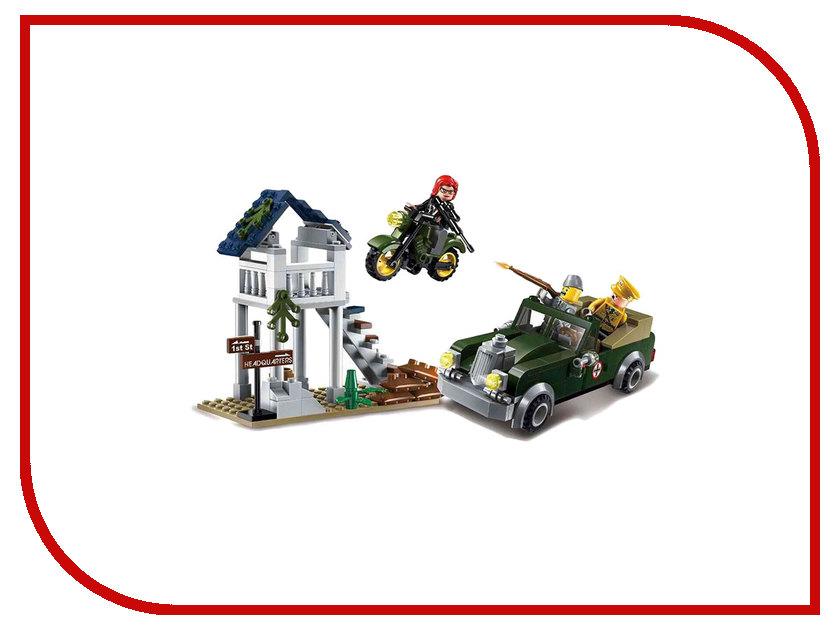 Конструктор Enlighten Brick CombatZones 1708 Спецоперация Зеро 206 дет. 233282 индола зеро ам палитра