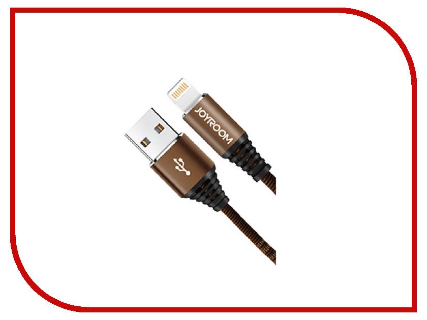 Аксессуар JoyRoom Woven Fabric S-L316i USB - Lightning Brown