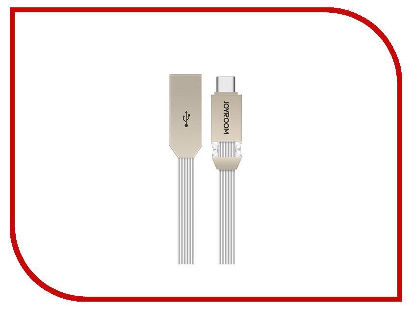 Аксессуар JoyRoom Crystal S-M337a USB - USB Type-C Silver аксессуар joyroom s q1i usb lightning silver