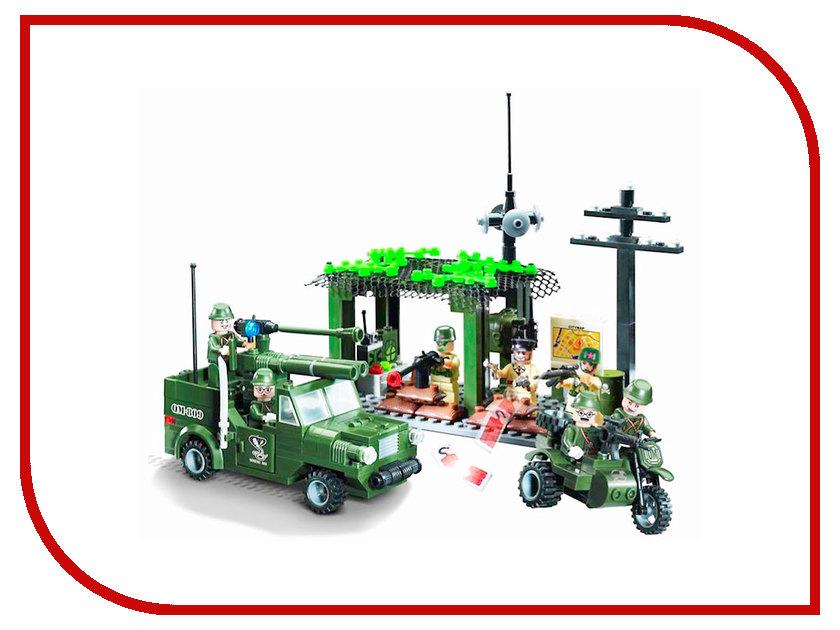Конструктор Enlighten Brick CombatZones 809 Разведгруппа 285 дет. 159640 конструктор enlighten brick каток c1104 1104