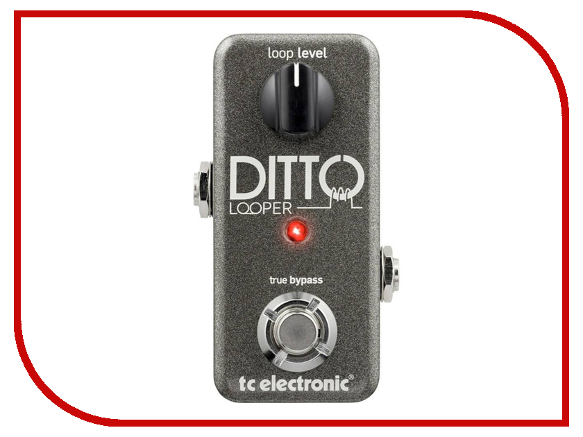 Педаль TC Electronic Ditto Looper tc electronic vortex mini flanger