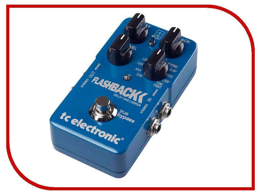 Педаль TC Electronic Flashback 2 Delay & Looper tc helicon voicetone double бу
