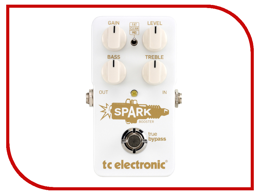 Педаль TC Electronic Spark Booster tc electronic d two