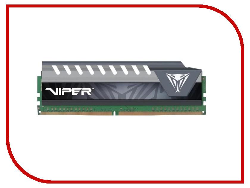 Модуль памяти Patriot Memory Viper DDR4 DIMM 2133MHz PC4-17000 CL14 - 8Gb PVE48G213C4GY торшер lucide 30710 01 12