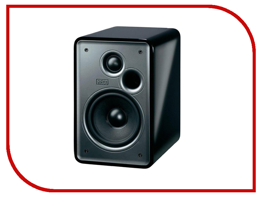Колонки Heco АС Music Colors 100 High Gloss Black колонки denon sc m41 ас scm41bkem