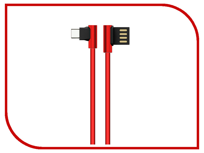 Аксессуар JoyRoom Enjoy S-M341a USB - Type-C Red аксессуар joyroom woven fabric s l316m usb micro usb blue