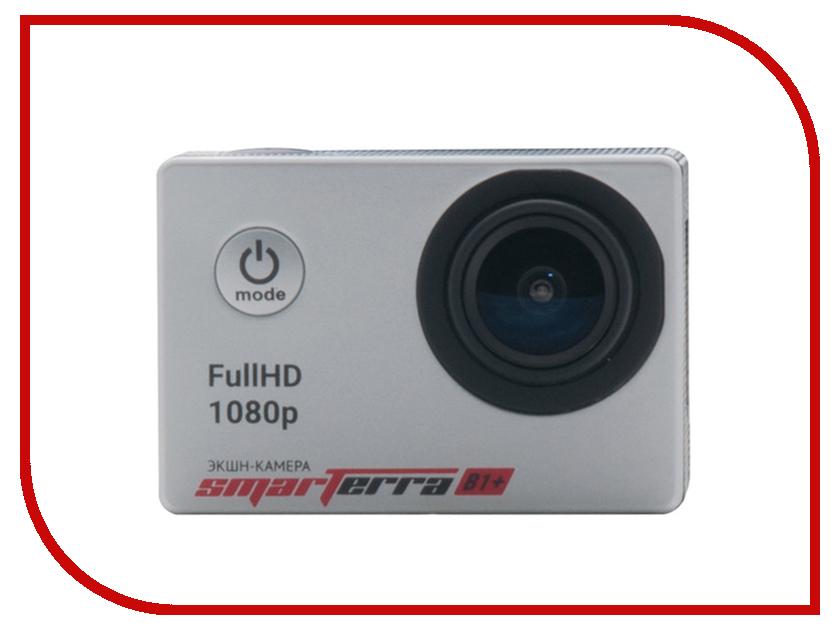 Экшн-камера Smarterra B1+ Silver BSB1PSL mp3 плееры smarterra mp3 player smarterra ska silver