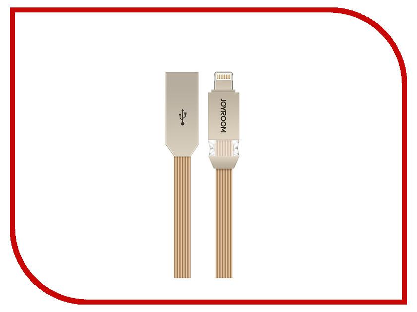 Аксессуар JoyRoom Crystal S-M337i USB - Lightning Gold