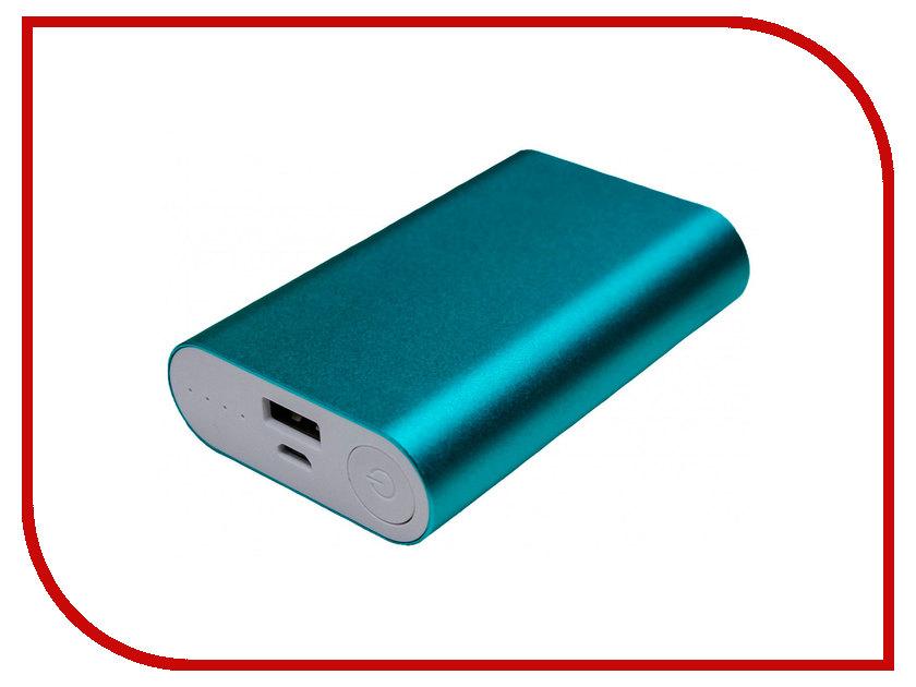 Аккумулятор Palmexx 1-USB 10000mAh Cyan PX/PBANK MET 10000 аккумулятор palmexx 1 usb 10000mah black px pbank met 10000