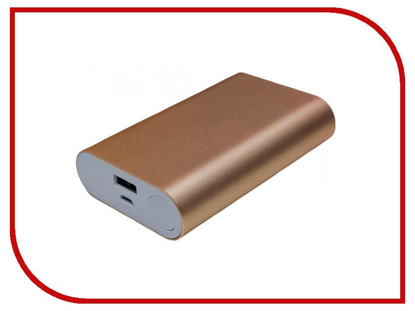 Аккумулятор Palmexx 1-USB 10000mAh Gold PX/PBANK MET 10000 аккумулятор iphone 5 palmexx 1440mah px iph 5