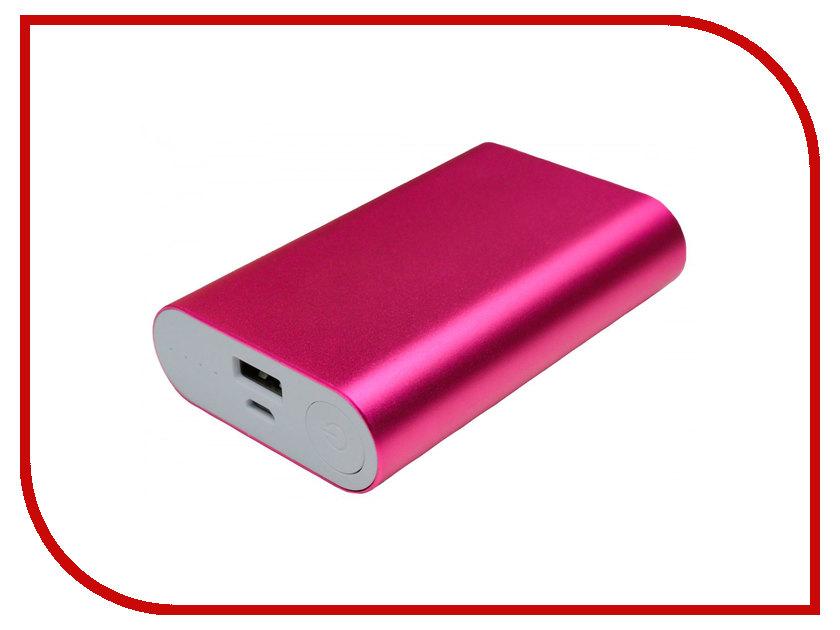 Аккумулятор Palmexx 1-USB 10000mAh Pink PX/PBANK MET 10000 2600mah power bank usb блок батарей 2 0 порты usb литий полимерный аккумулятор внешний аккумулятор для смартфонов светло зеленый