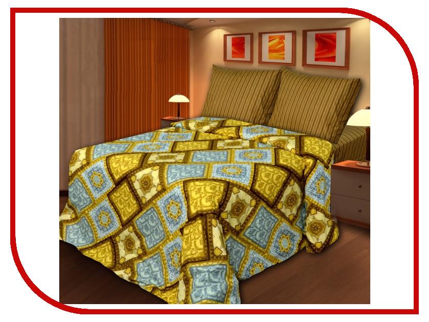 Постельное белье Хлопковый Рай Старое золото Комплект Семейный Бязь