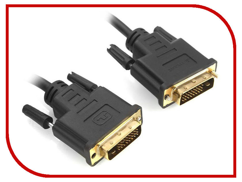 Аксессуар Mobiledata DVI 24+1 1.8m Black DVI-DVI-1.8
