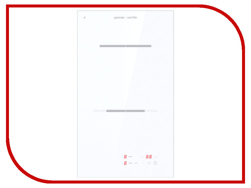 Варочная панель Gorenje ECT 330-ORA-W домино панель gorenje ect 322 ora b