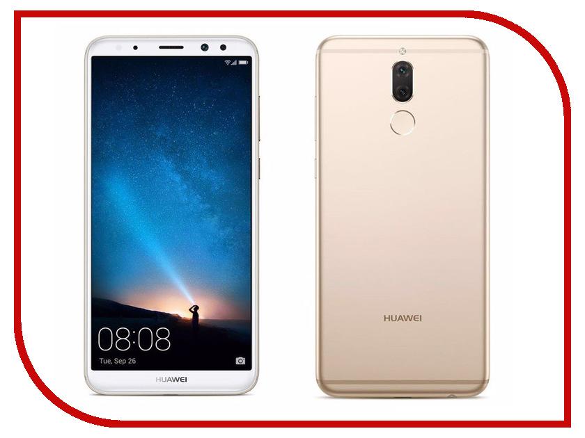 Сотовый телефон Huawei Nova 2i Gold аксессуар чехол huawei nova zibelino classico black zcl hua nov blk