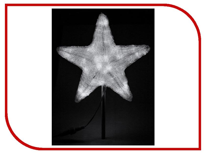 Светящееся украшение Neon-Night Звезда 30cm 45-LED White 513-435 1 2w 100lm 6000k 8 led white light usb reading camping night lamp white