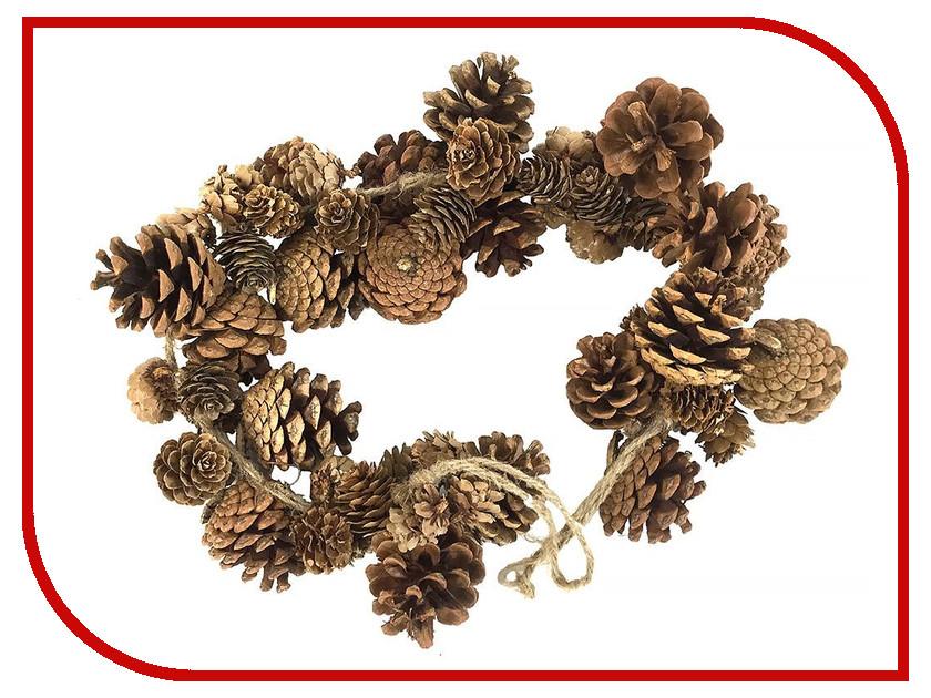 Хвойный декор Hogewoning Сосновые шишки 60cm 38654-000