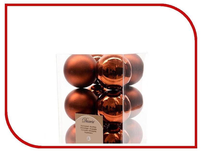 Украшение Kaemingk Набор шаров 12шт Truffle 021944
