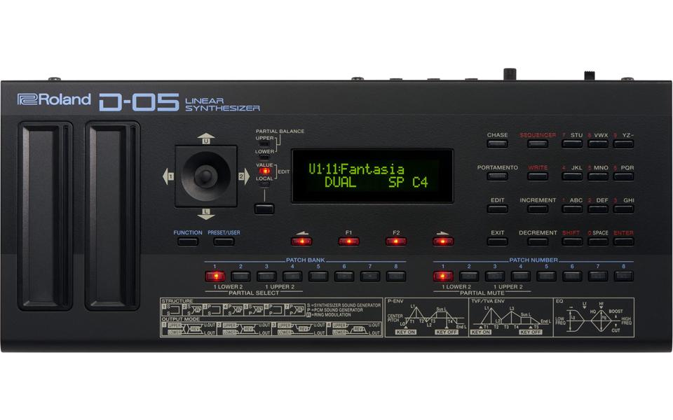 Синтезатор Roland D-05 синтезатор roland driftbox r