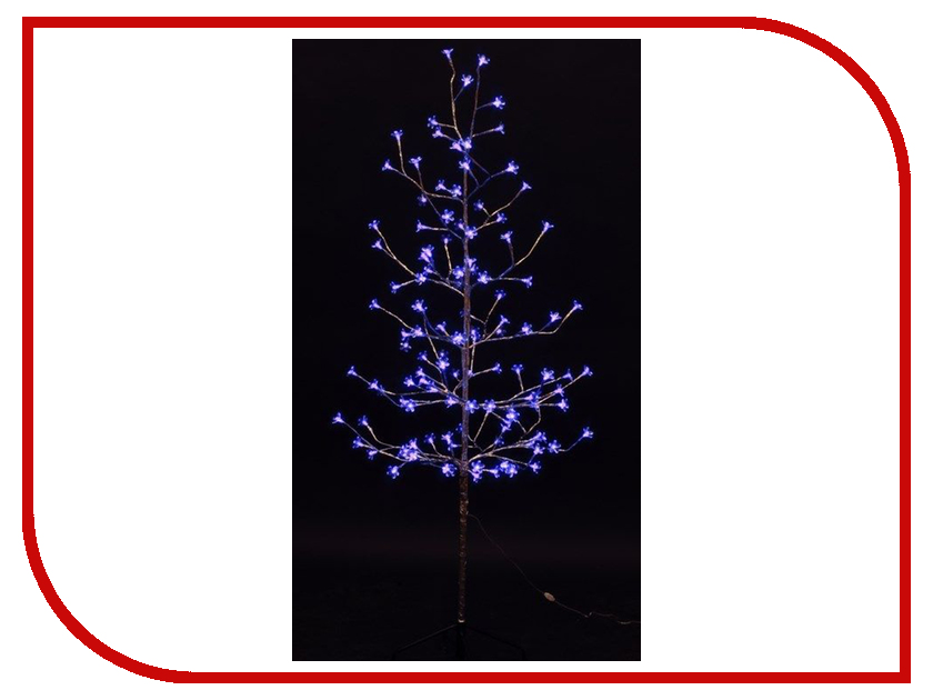 Светящееся украшение Neon-Night Дерево Сакура Silver 1.5m 120-LED Blue 531-273