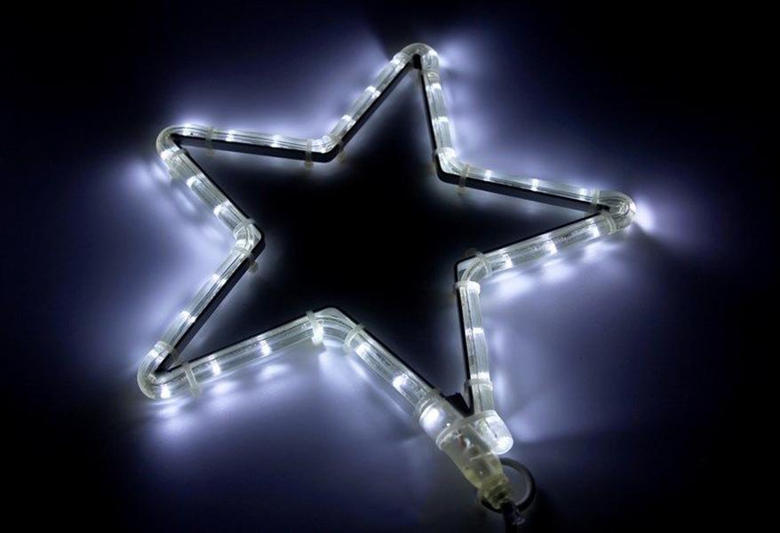 Светящееся украшение Neon-Night Фигура Звездочка LED 30x28cm White 501-211-1
