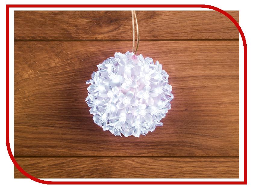 Светящееся украшение Neon-Night Фигура Шар 12cm 50-LED White 501-601 светильник neon night led проектор белые снежинки 601 263