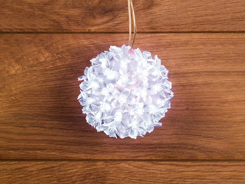 Светящееся украшение Neon-Night Фигура Шар 12cm 50-LED White 501-601