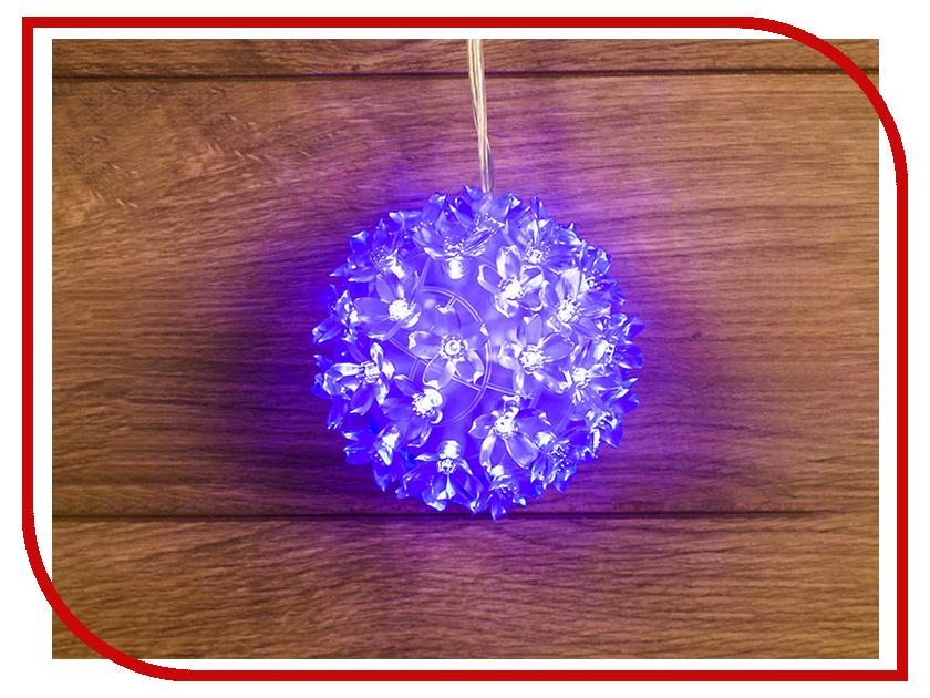 Светящееся украшение Neon-Night Фигура Шар 12cm 50-LED Blue 501-602 украшение для интерьера сверкающий шар