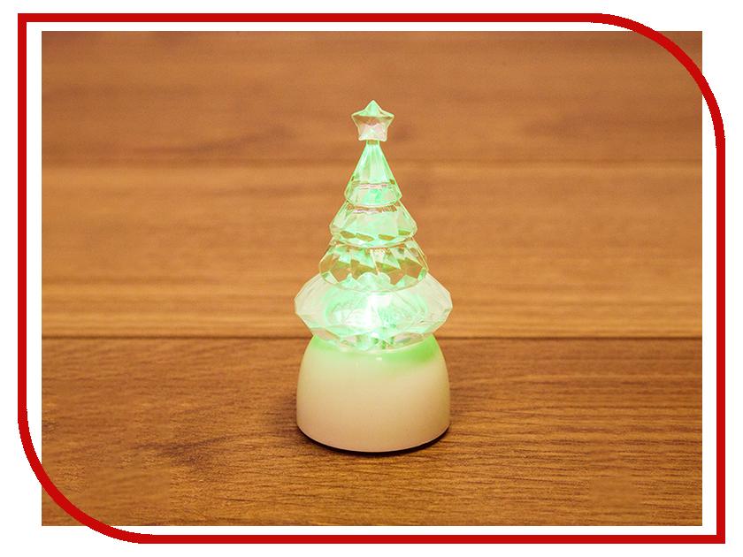 Новогодний сувенир Neon-Night Ёлочка Кристалл Светодиодная RGB 8.5cm 501-051 волшебная страна сувенир ёлочка