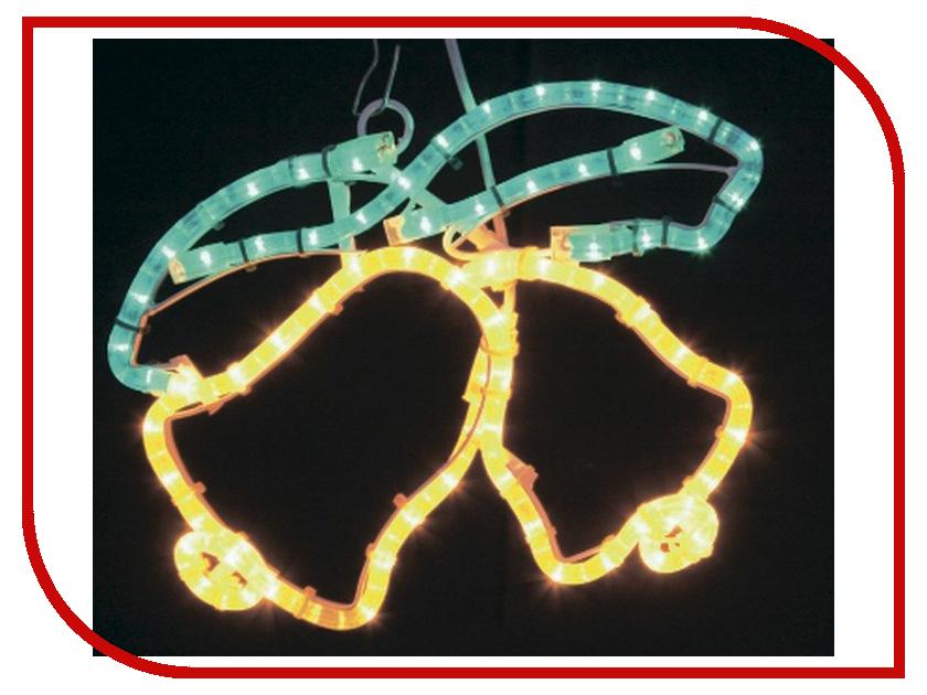 Светящееся украшение Neon-Night Фигура Два колокольчика 35x28cm Yellow/Green 501-215 светящееся украшение neon night фигура шар 20cm 200 led blue 501 607