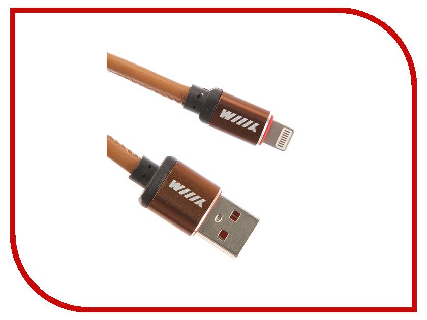 Аксессуар WIIIX USB-Lightning 1m Brown CB810-2A-U8-LR-10BN lacywear u 8 foy