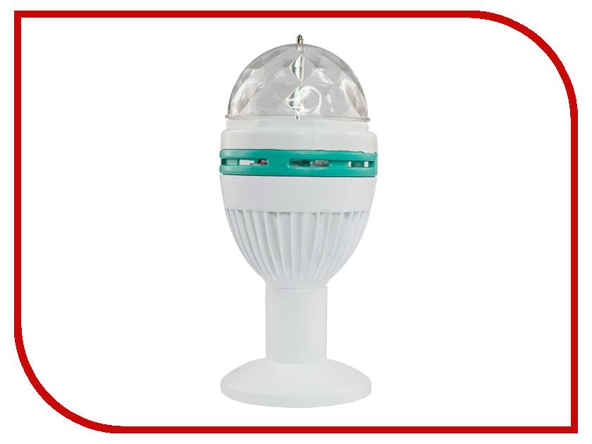 Светильник Neon-Night Диско-лампа e27 LED 601-251 светильник neon night led проектор белые снежинки 601 263