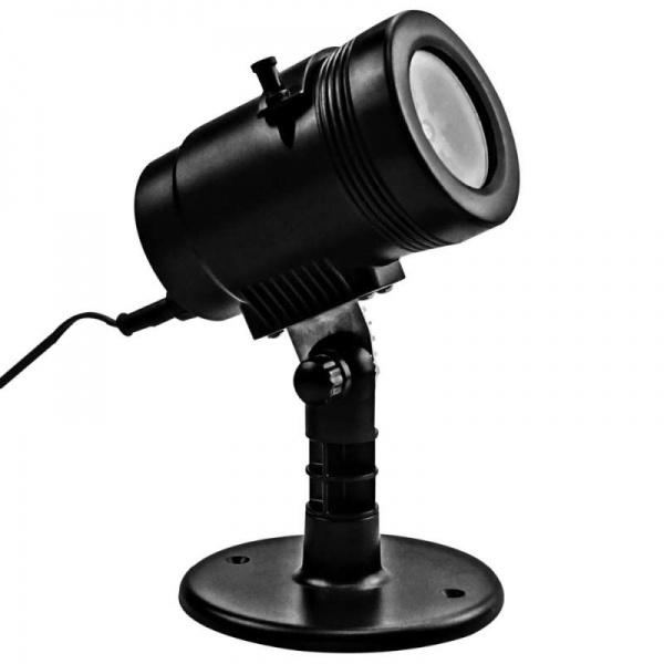 Neon-Night LED проектор Белые снежинки 601-263