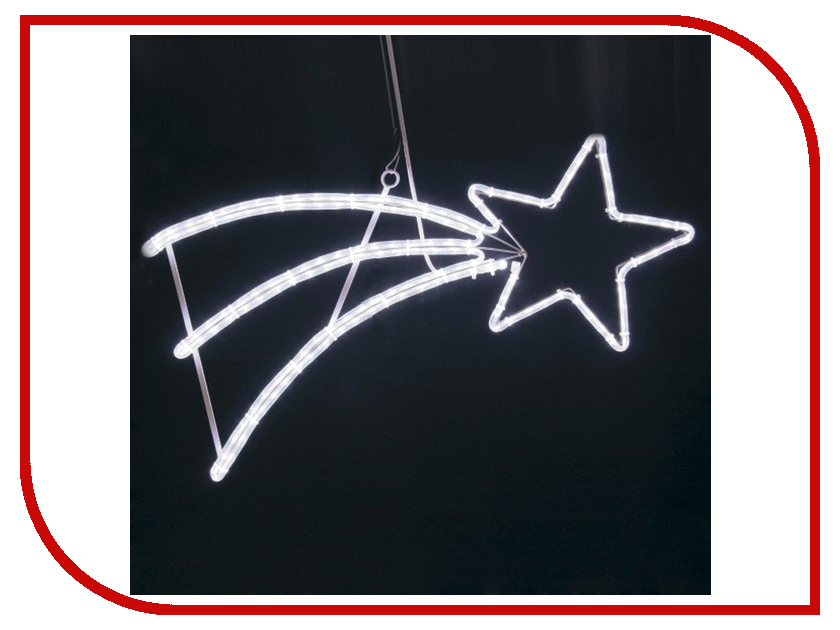 Светящееся украшение Neon-Night Фигура Падающая Звезда 40x80cm LED White 501-532 светящееся украшение neon night фигура шар 20cm 200 led blue 501 607