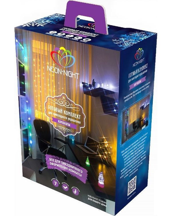 Гирлянда Neon-Night Набор Комната LED Warm White 500-026
