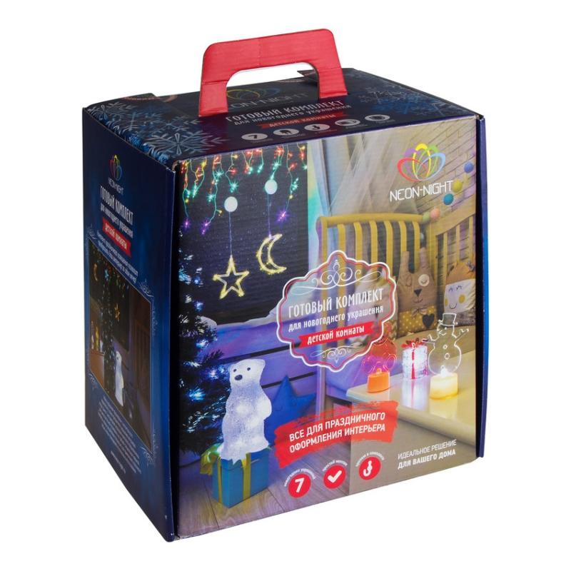 Гирлянда Neon-Night Набор Детская LED Blue 500-053