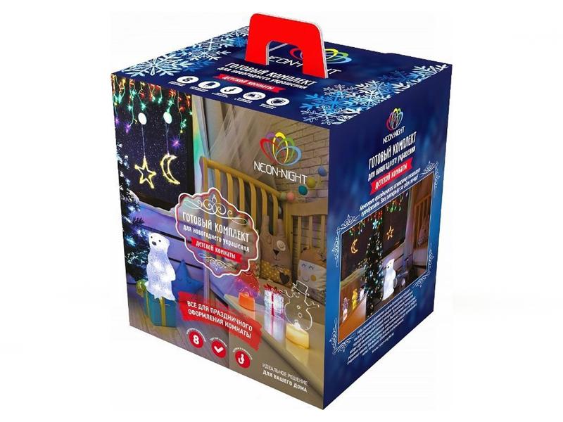 Гирлянда Neon-Night Набор Детская LED White 500-055