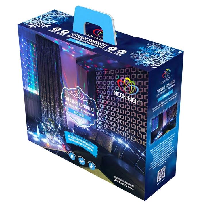 Гирлянда Neon-Night Набор Гостиная LED Warm White 500-016