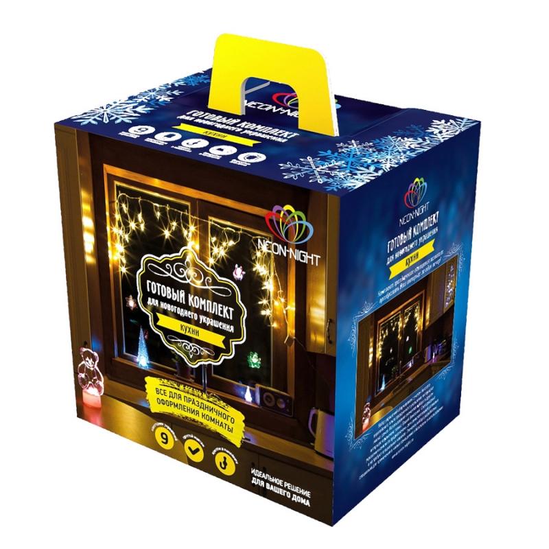 Гирлянда Neon-Night Набор Кухня LED Blue 500-003