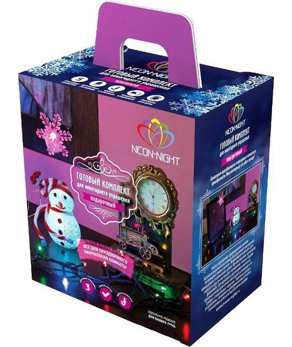 Гирлянда Neon-Night Набор Подарочный LED Multi-color 500-069