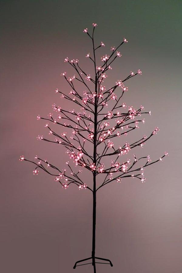 Светящееся украшение Neon-Night Дерево Сакура Brown 1.5m 120-LED Red 531-262 светящееся украшение star trading горка рождественская sanna 5 red 200 85