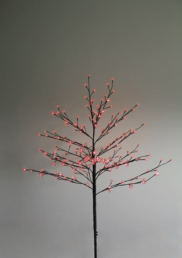 Светящееся украшение Neon-Night Дерево Сакура Brown 1.2m 80-LED Red 531-242 светящееся украшение star trading горка рождественская sanna 5 red 200 85