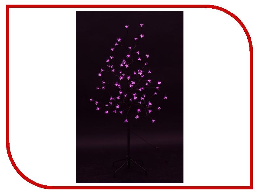 Светящееся украшение Neon-Night Дерево Сакура Brown 1.2m 80-LED Pink 531-248 neon pink v neck self tie top